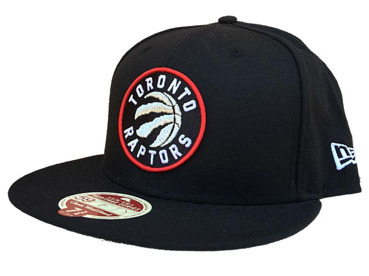 Toronto Raptors New Era Heritage Black Classic Wool Fitted 59Fifty Hat