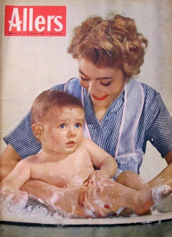Allers 1956-42 Stora Barriärrevet.Springsta Säteri.Mode Dior