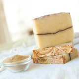 Organic Body Soap: Exfoliate Our Orange Patchouli Walnut organic body soap bar is the ultimate pick me up! Earthy and...
