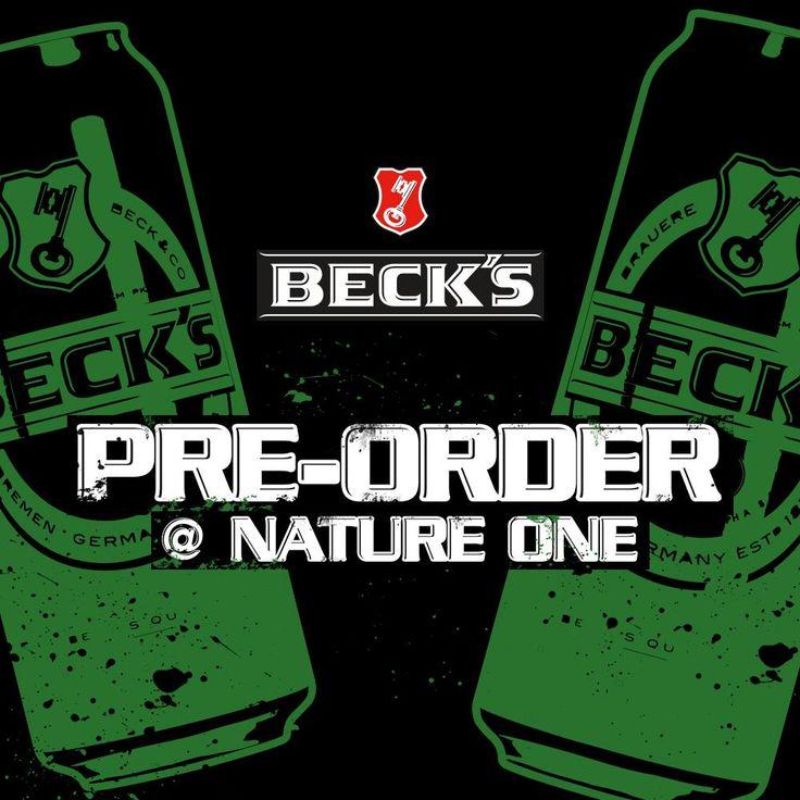Keine Lust auf warmes Bier und jede Menge Schlepperei? Kein Problem mit der Beck's Pre-Order.  1. Online bestellen. 2. Kaltes Beck's direkt im CampingVillage abholen.  Einfacher geht es nicht. #Beautiful #Nature #Entertainment #Animal #Style #Tattoos #Funny #DIY