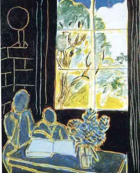 Henri Matisse,   The Silence that Lives in Houses on ArtStack #henri-matisse #art
