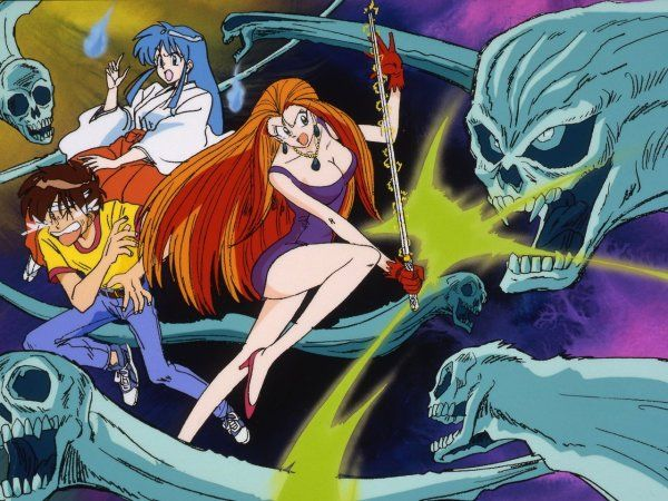 New 'Ghost Sweeper Mikami' Japanese Blu-ray Anime Box Set Artwork Revealed