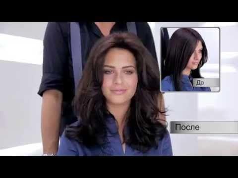 Как придать объем волосам (для тонких и ослабленных волос) - YouTube