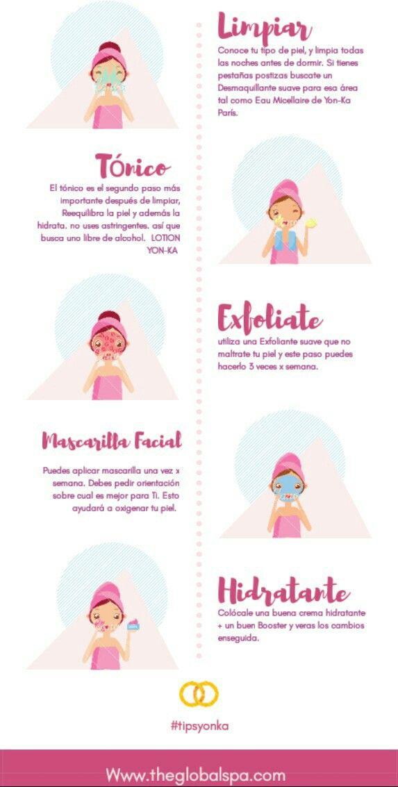 limpieza facial en casa diaria