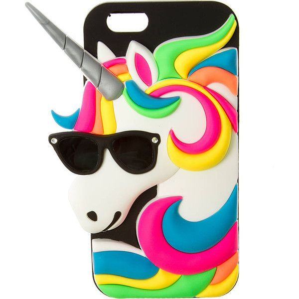 3D Unicorn Cover for iPhone 6   Claire's ($35) ❤ liked on Polyvore featuring accessories, tech accessories, phone cases, phone, phone cover, phonecase's, tech and claire's