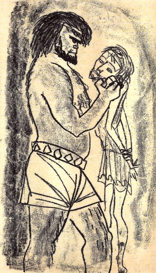 Иллюстрации к «Мастеру и Маргарите»: Рисунки Нади Рушевой. Обсуждение на LiveInternet - Российский Сервис Онлайн-Дневников