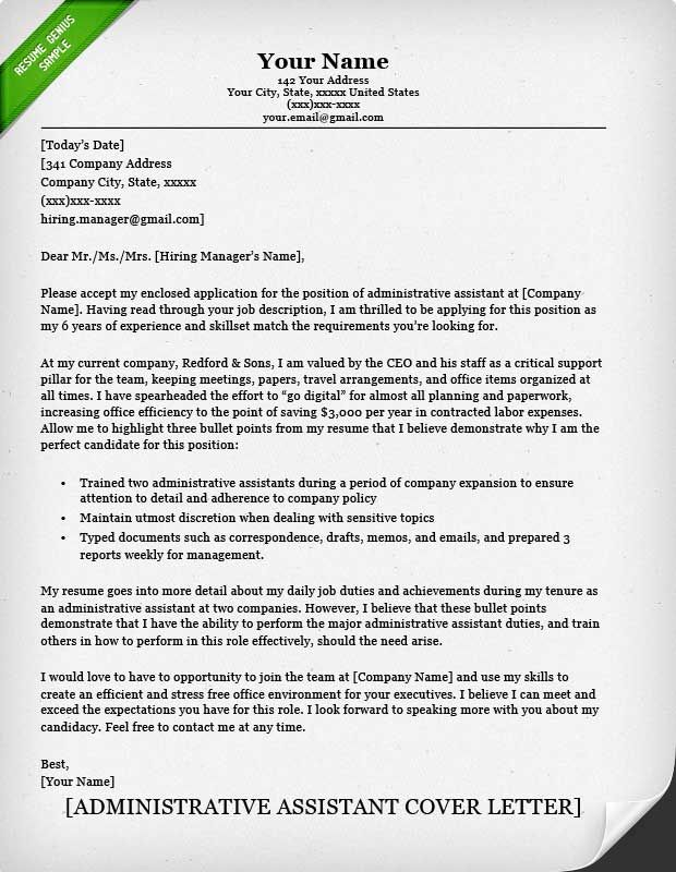 Best  Resume Cover Letter Examples Ideas On   Cover