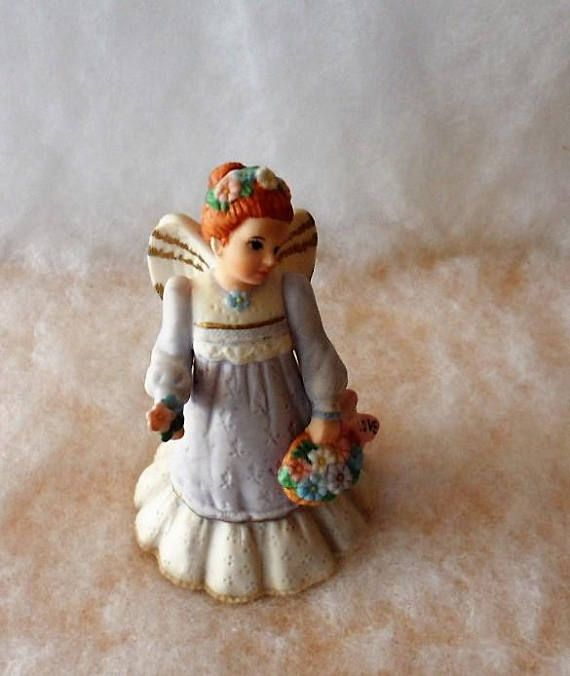 Vintage 1995 SCHMID Angelic Melodies Music Box Angel