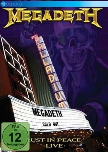 """DVD dei #Megadeth intitolato """"Rust In Peace Live""""."""
