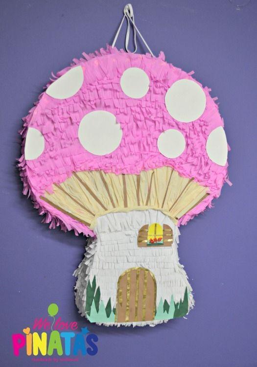 Πινιάτα μανιτάρι, pinata mushroom, Πινιάτες οι αγαπημένες! (updated!) - Anthomeli