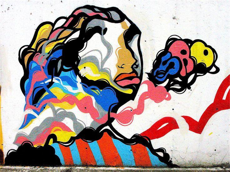 Dejando de lado un poco las imagenes chistosas, vamos a mostrar algunas imagenes de graffitis chidos que quise compartir para darle un poco más de espacio