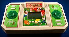 HEAD TO HEAD FOOTBALL TIGER ELECTRONICS TABLETOP HANDHELD GAME ARCADE VINTAGE
