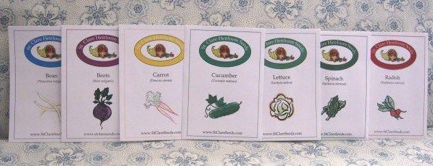Beginner Vegetable Garden Seed Collection