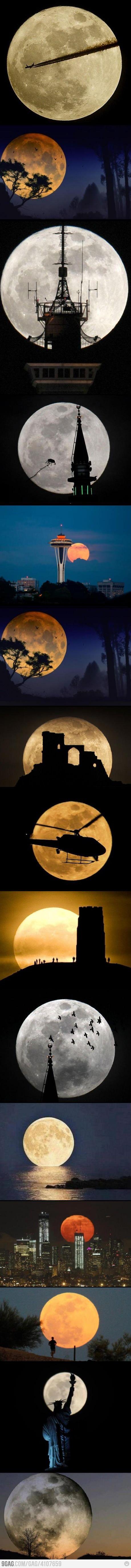super moon - 5th May 2012