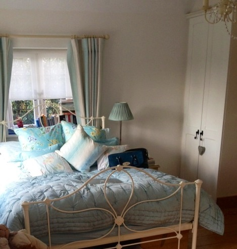 Duck egg blue bedroom laura ashley bed bedrooms for Duck egg bedroom ideas