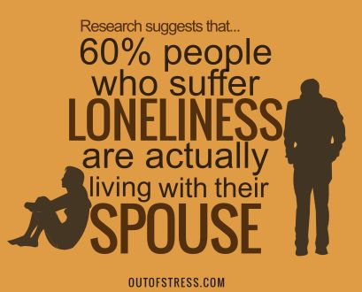 Lonely couples in a marriage. There are many couples who feel lonely despite being in a relationship.