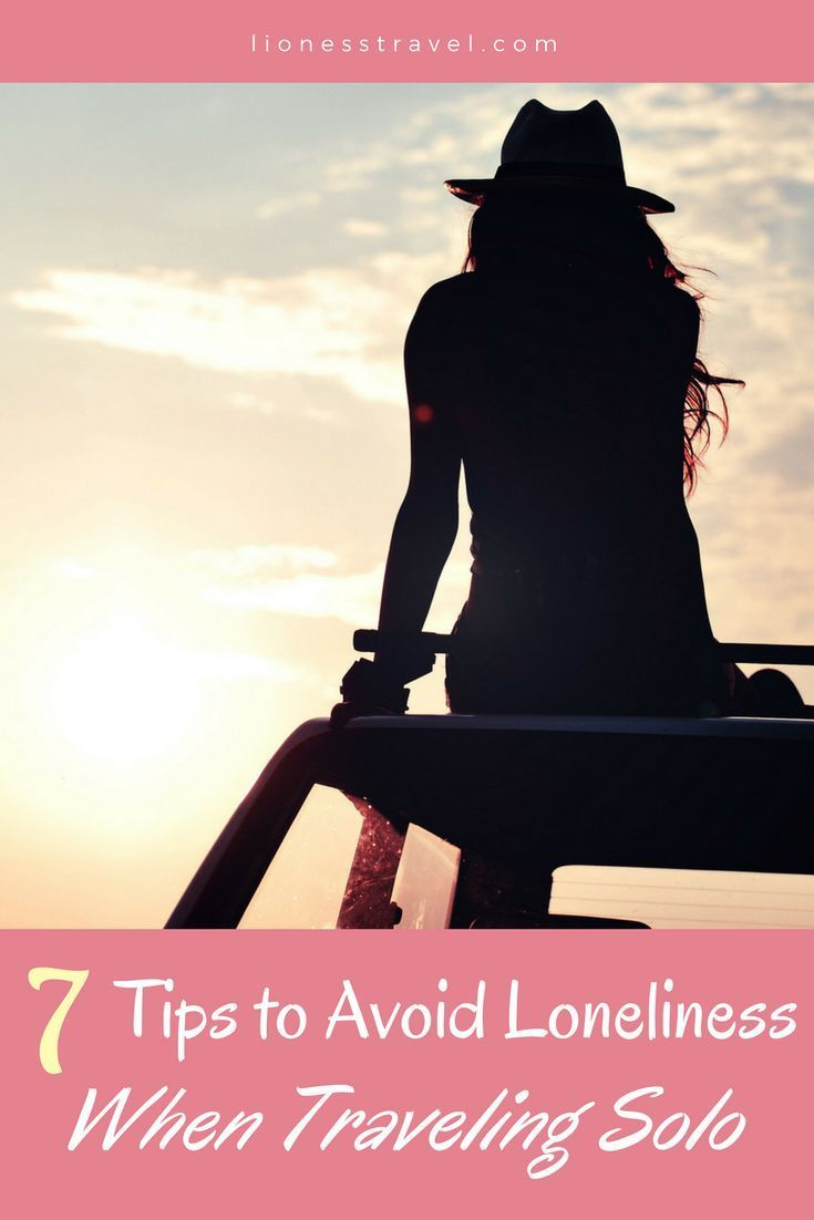 What to do as a solo female traveler on the road to avoid loneliness. Tips for meetings others while traveling.