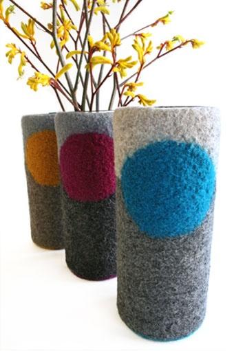 Dot Vase by Papaver Vert