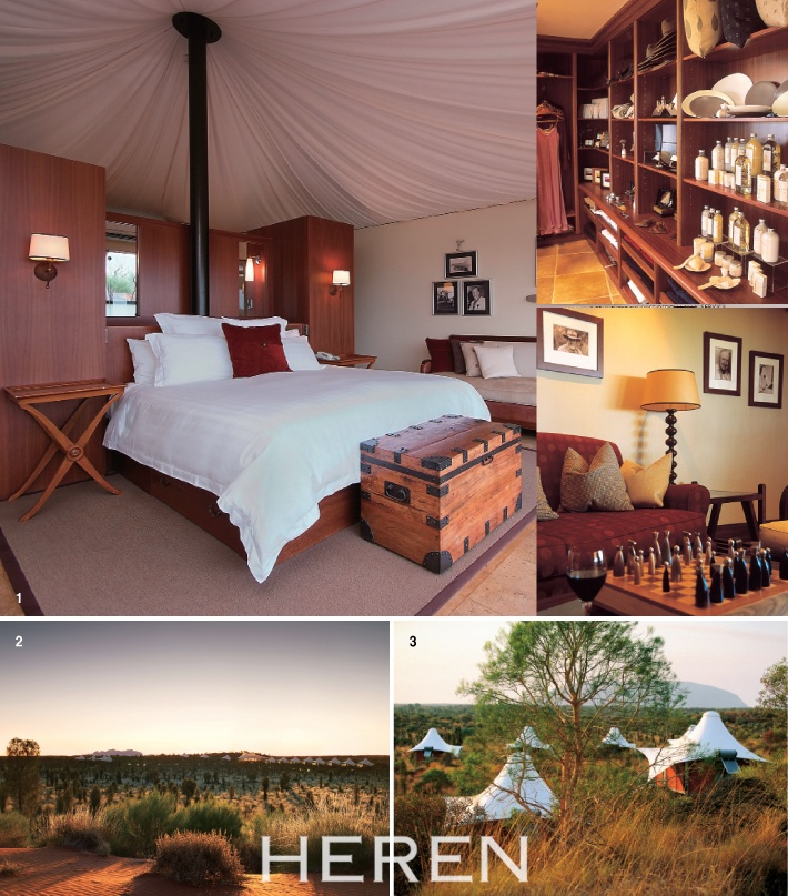 GLAMPING HOLIDAY AUSTRALIA  by HEREN