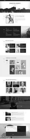 #Portfolio #HTML #template - Home 4