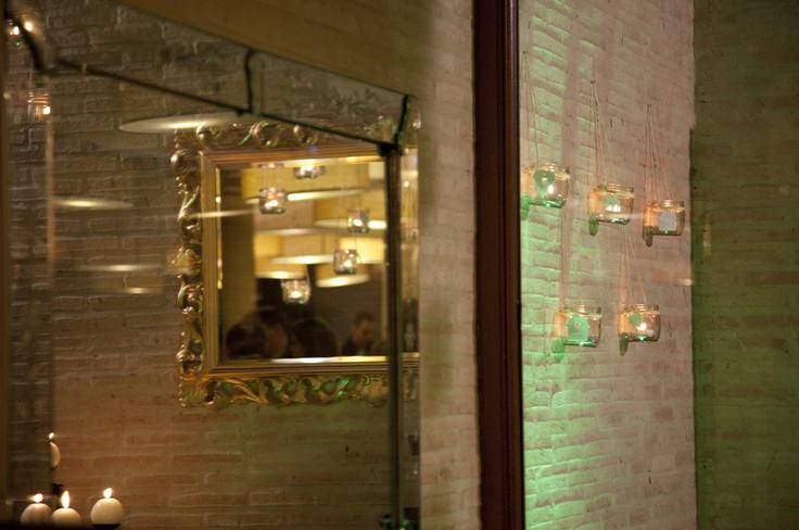 Detalle decoración cata de vino Cadena Ser por alcoper concept.