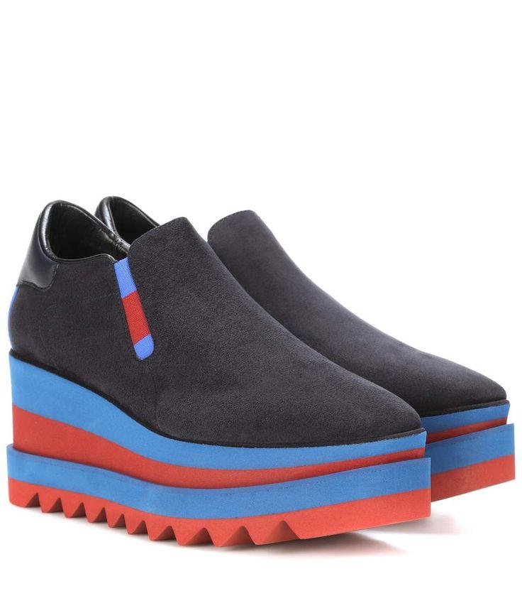Stella McCartney Platform slip-on sneakers