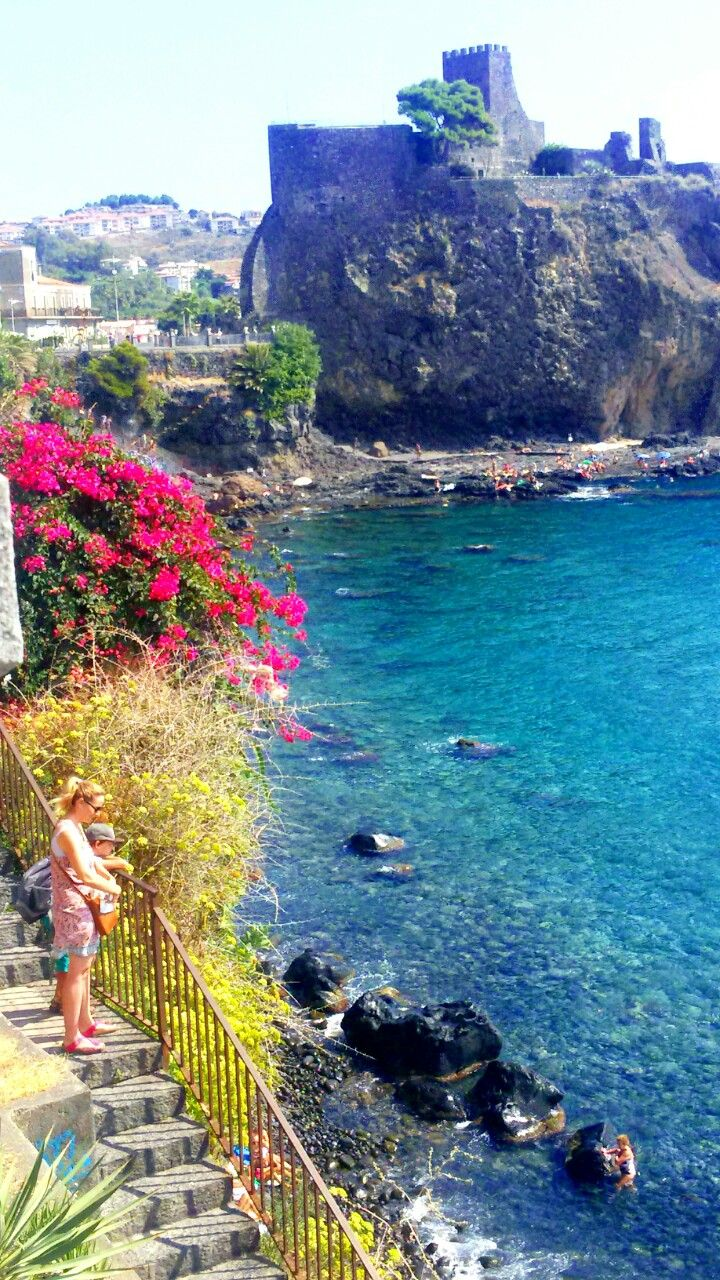 Acicastello, Sicily, Italy.