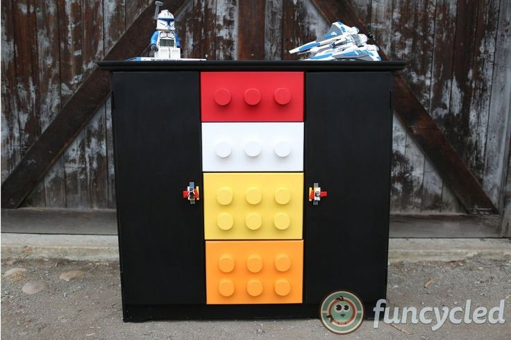 How To Make A Lego Cabinet/Dresser http://funcycled.com/projects/how-to-make-a-lego-storage-cabinet-tuesdays-treasures