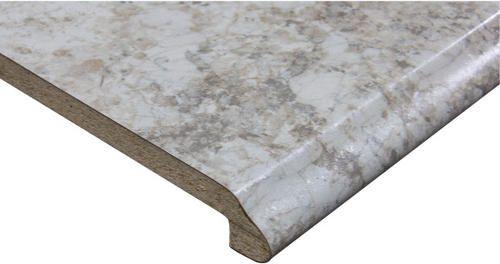 Customcraft Countertops 4 Ft Carrara Pearl Ogee Edge