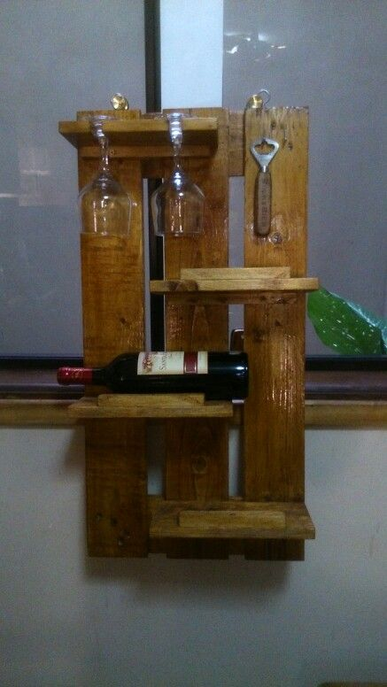 63 best porta vinos images on Pinterest | Bottle rack, Wine ...