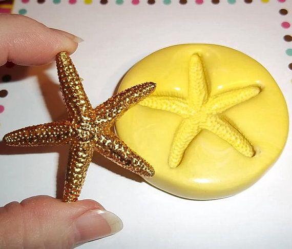 Grande étoile de mer moule souple pour résine par TheMoldHut