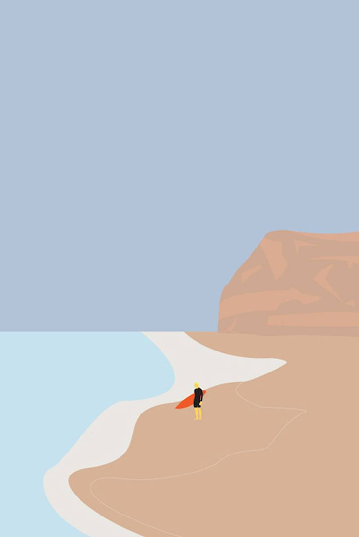 Daily Scenes and Landscapes Beautiful Illustrated Posters – Michel Thiry