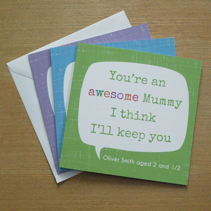 Personalised 'You're Awesome' Card by Doodlebump