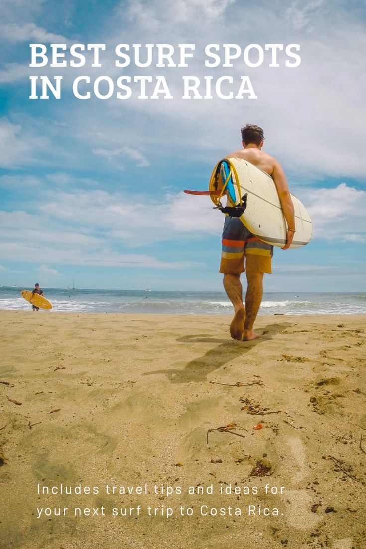 Best Surf Beaches In Costa Rica With Images Best Surfing Spots