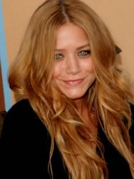 Mary-Kate Olsen Long Dark Blonde Hairstyle#Repin By:Pinterest++ for iPad#