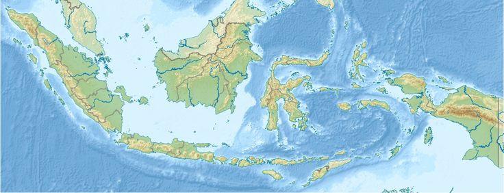 Mount Merapi is located in Indonesia