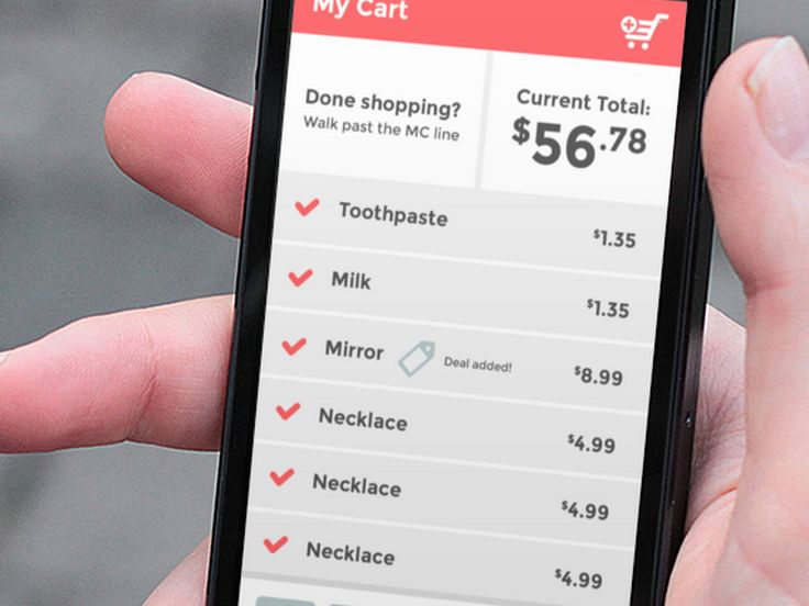 smartcart shopping list