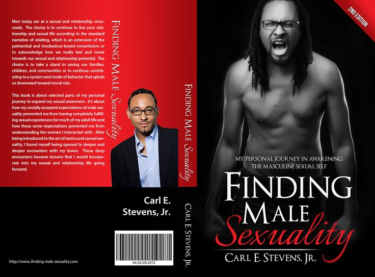 Designs | Finding Male Sexuality | Book cover contest