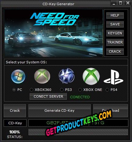 Need for Speed 2015 CD Key Creator