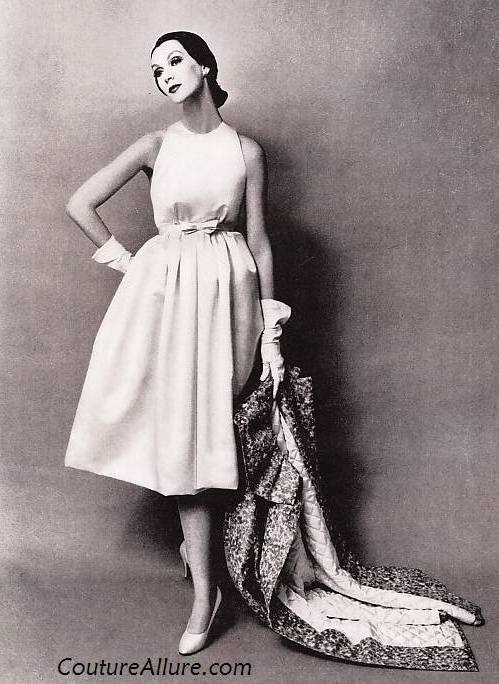 Mainbocher 1958 Fashion Pinterest Vintage Classic Style And Clothes