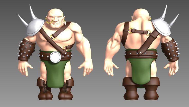 Modeling a dwarf fighter, now up on gumroad: https://gumroad.com/l/dwarfmodeling
