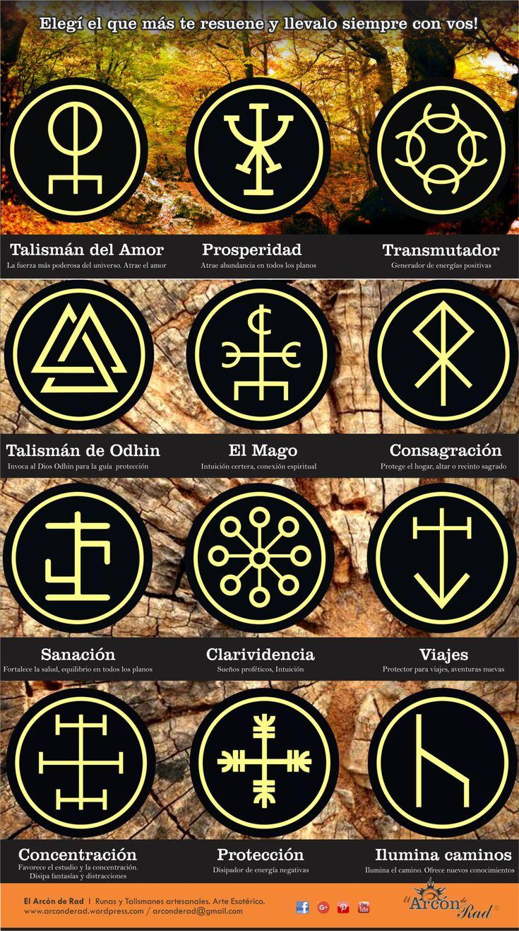 Modelos de talismanes Arcón de Rad