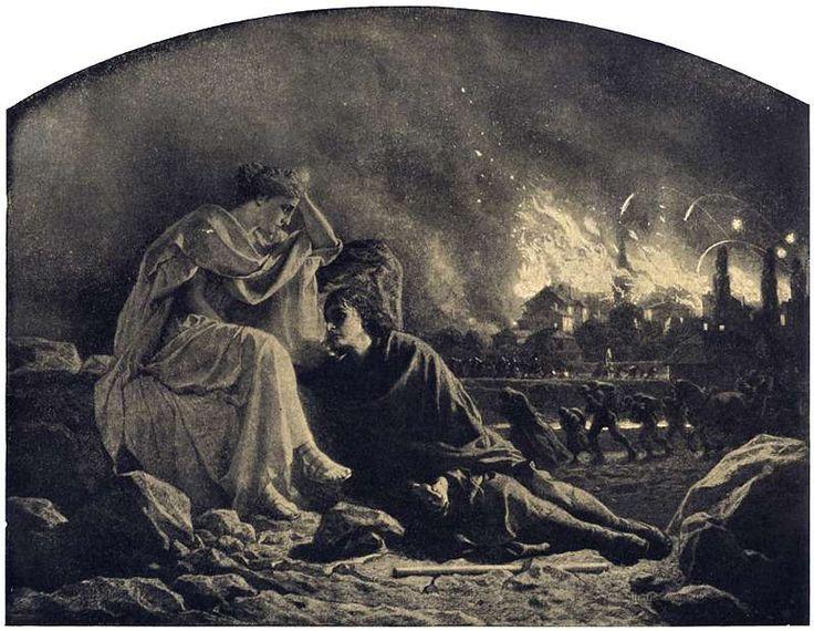 Artur Grottger - Wojna, V. Pożoga, 1867