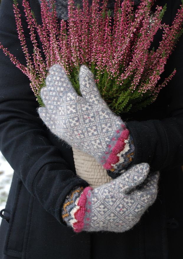 424 best Перчатки 2 images on Pinterest | Hand knitting, Mittens ...