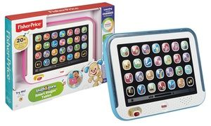 Designed to teach children about letters, first words and animals, this tablet features three levels of play suitable for different ages