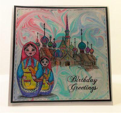 Babushka Birthday Greetings