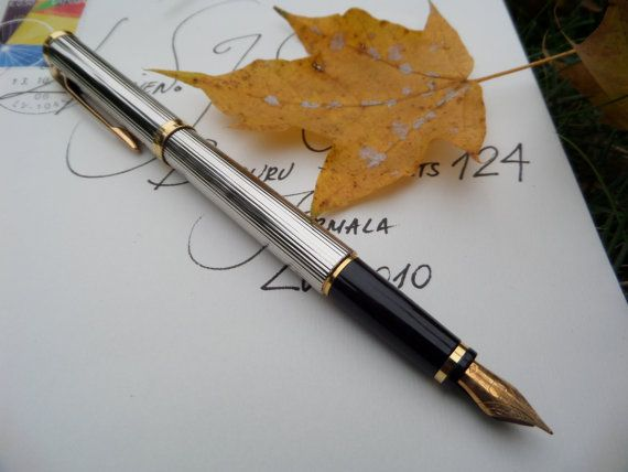 pen fountain waterman pen fountain collectible by CodettiSupply
