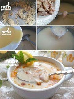 Terbiyeli Tavuklu Düğün Çorbası Malzemeler 1 kase didiklenmiş tavuk eti 1 yemek kaşığı tereyağı 2 yemek kaşığı un (tepeleme) 2 su bardağı su 5-6 su bard... - f. özbağ - Google+