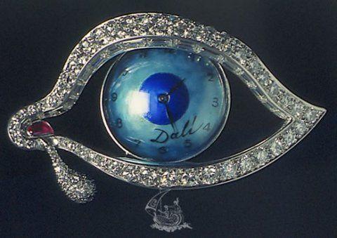 El ojo del tiempo. Salvador Dali
