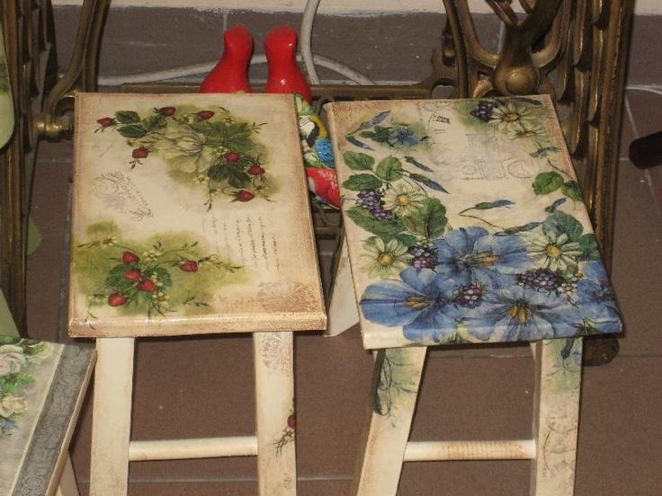 Decoupage sedie ~ Migliori immagini decoupage e varie my objects su